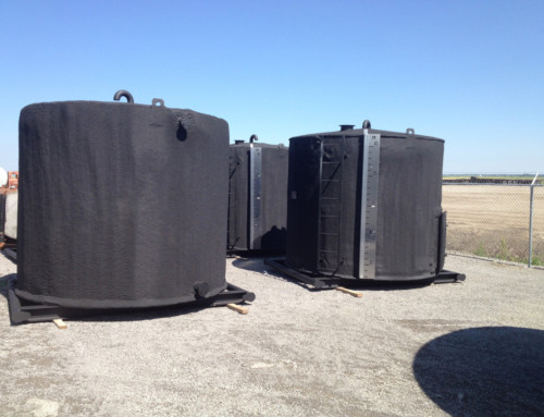 100 BBL DOUBLE WALL Storage Tank – INSULATED