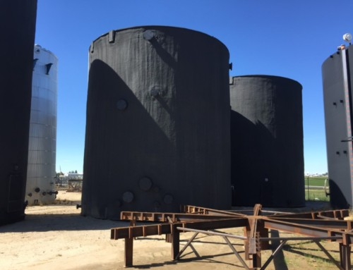 (2) New 2000 BBL Water Storage tanks