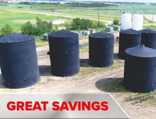 (4) Heavy Oil Battery Tank Farm 2000+ bbl Tanks