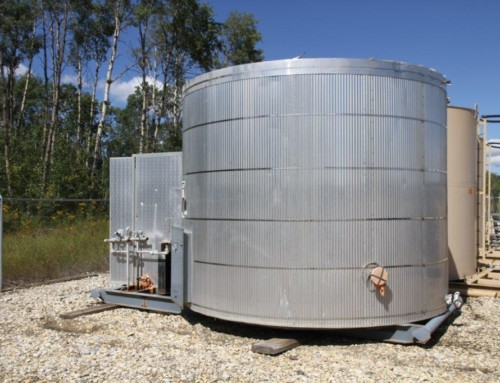 200 BBL SW Heated, insulated, Internally Coated C/w Heater