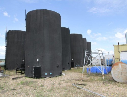 New 400 BBL API 650 Heated Storage tanks