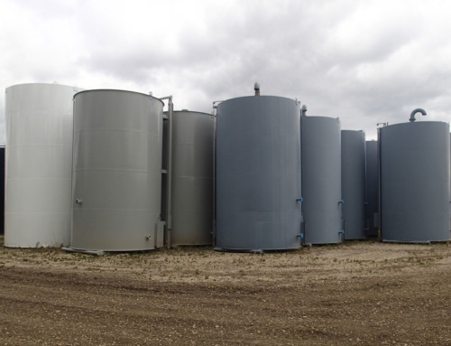 400 BBL Double Wall Painted Coated c/w Vault
