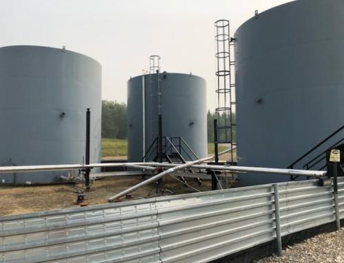 Used 2000 BBL Storage tanks