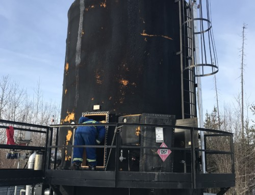 750 BBL Cone Bottom Storage tank