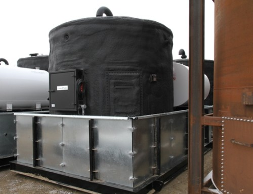 100BBL Insulated & Heated Storage Tank C/W Secondary Containment