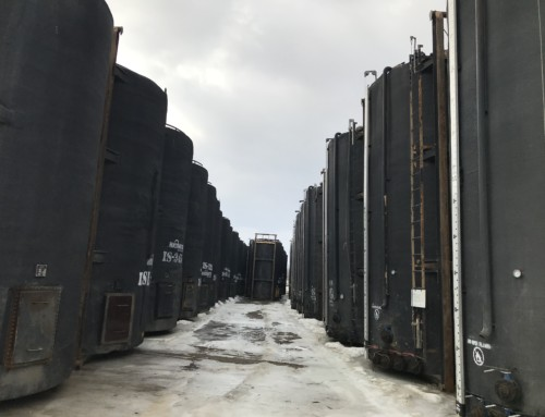Used 400 BBL Insulated Coated and Non Coated tanks