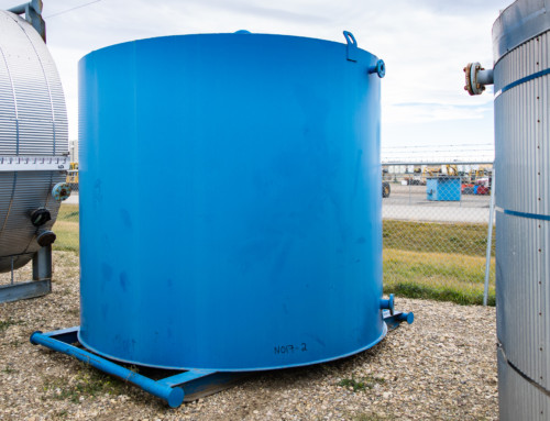 100 BBL Double Wall Storage Tank