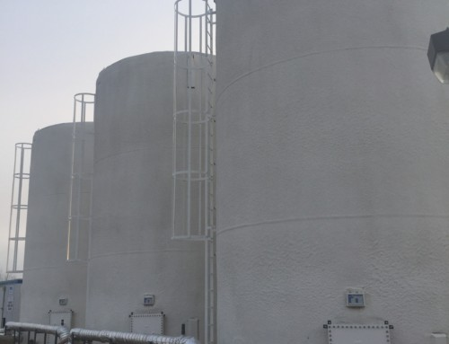 750 BBL Water Storage & Sewage Tanks