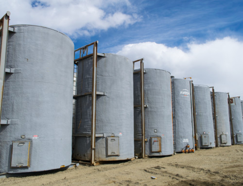 400 BBL Insulated Internally Coated Tanks
