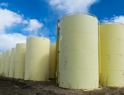 400 BBL Internally Coated Tanks – Yellow