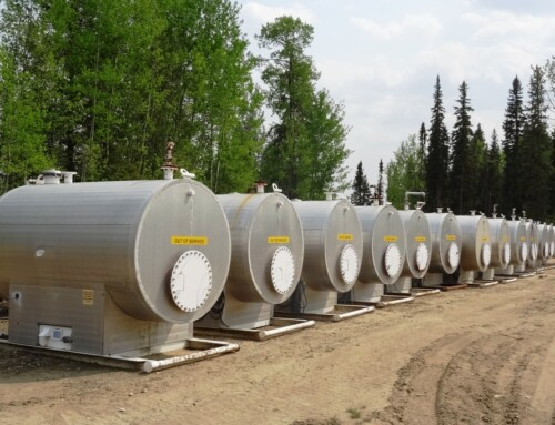 50 BBL Bilton Blowdown Tanks