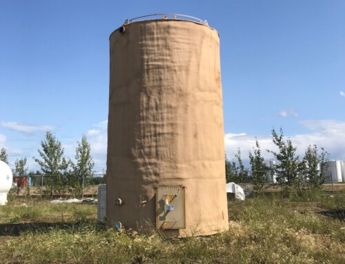Unused 400 BBL Double Wall Internally Coated Tank