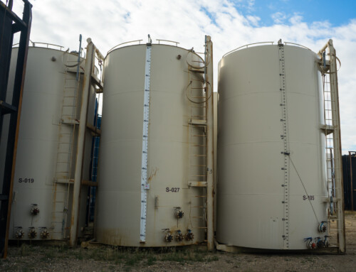 400 BBL Internally Coated Tanks