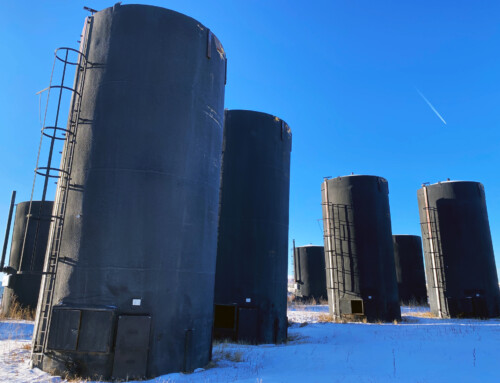 Used 1000 BBL Storage Tanks – Partially Coated