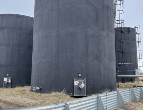 2000 BBL Storage Tank – Insulated