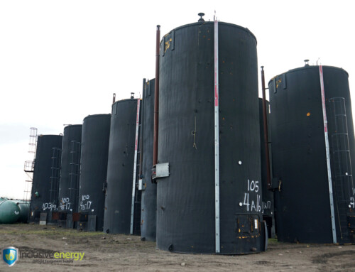 1000 BBL Production Storage Tanks c/w Firetubes and Envirovault
